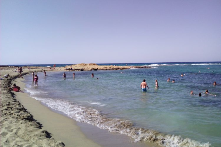 Potamos beach Malia Crete